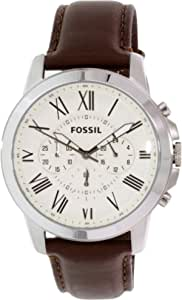 Fossil Casual Watch For Men Analog Leather - FS4735-AT
