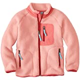 Hanna Andersson Baby Kids Headed Out Sherpa Jacket, Size 90 (36 Months), Ballet Pink