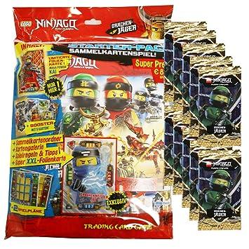 Blue Ocean Lego Ninjago Serie 4 Trading Cards - 1 Starter + ...