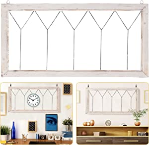 Rustic Cathedral Window Panel Wall Decorations- 20