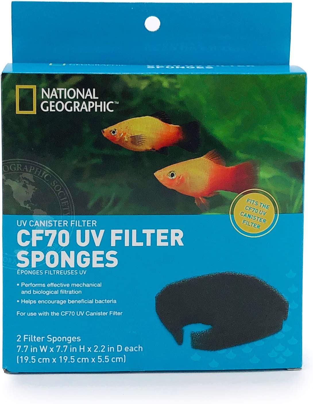 NATIONAL GEOGRAPHIC CF70 UV Filter Sponges 2 Count