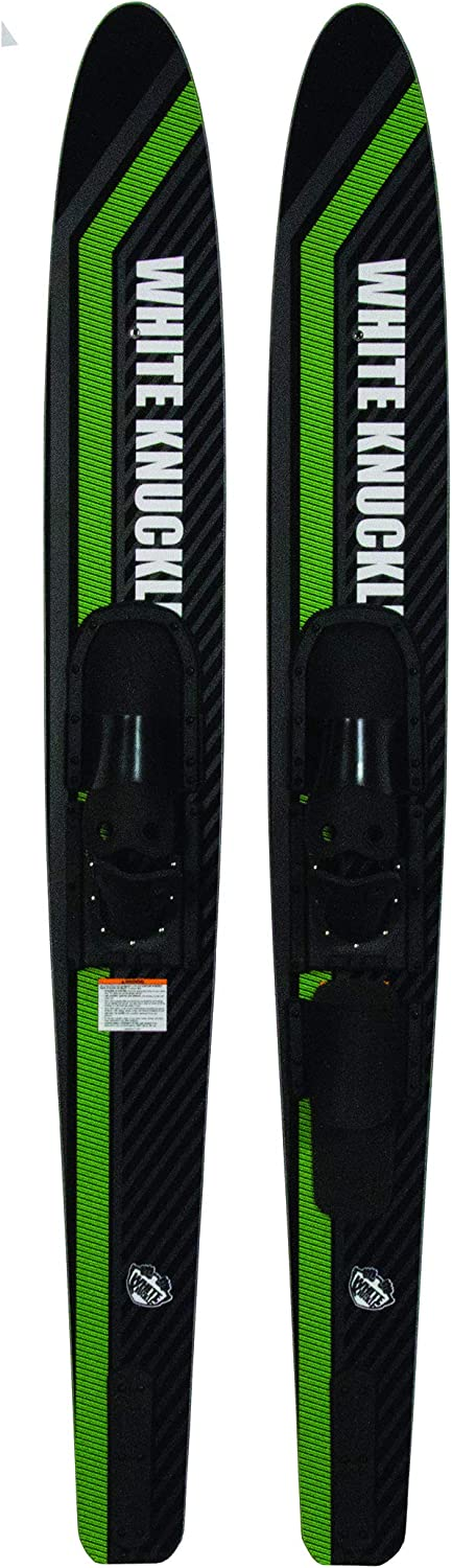"""White Knuckle 67/"""" Showtime Adult Combo Skis"""