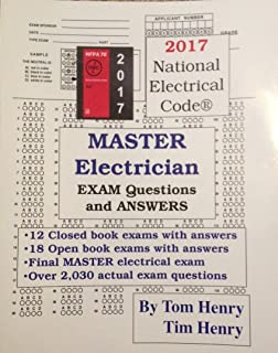 calculations for the electrical exam 2014 tom henry 9780945495871