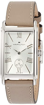 huge selection of 7b03a 2c80b Amazon | [ハミルトン]HAMILTON 腕時計 アードモア クォーツ ...