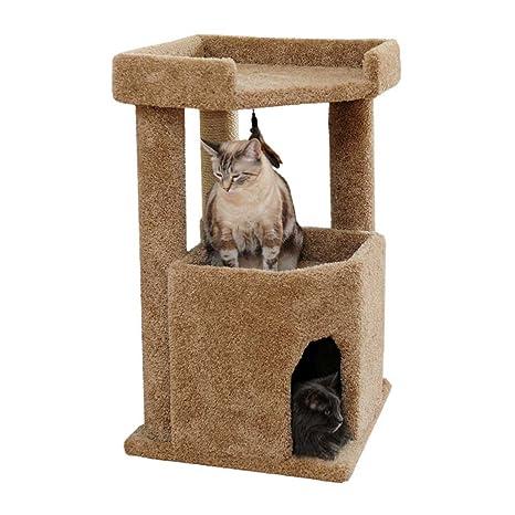Amazon.com: Cat Condo Kitty Muebles para gatos grandes de ...