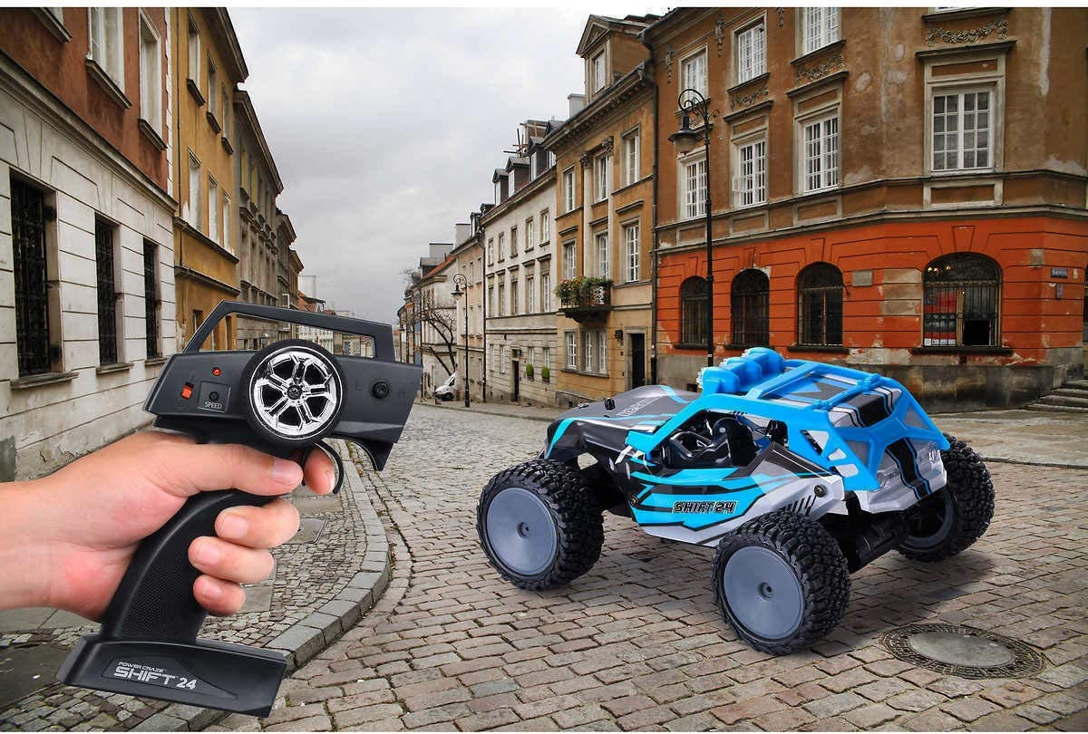 Amax Power Craze Shift 24 Mini RC High Speed Buggy Blue New Remote Control Car