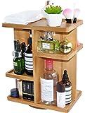 Spiretro Rotating Cosmetic Modular Organizer, Multi-Function Storage, 360 degree Carousel for Makeup, Toiletries, Vanity…