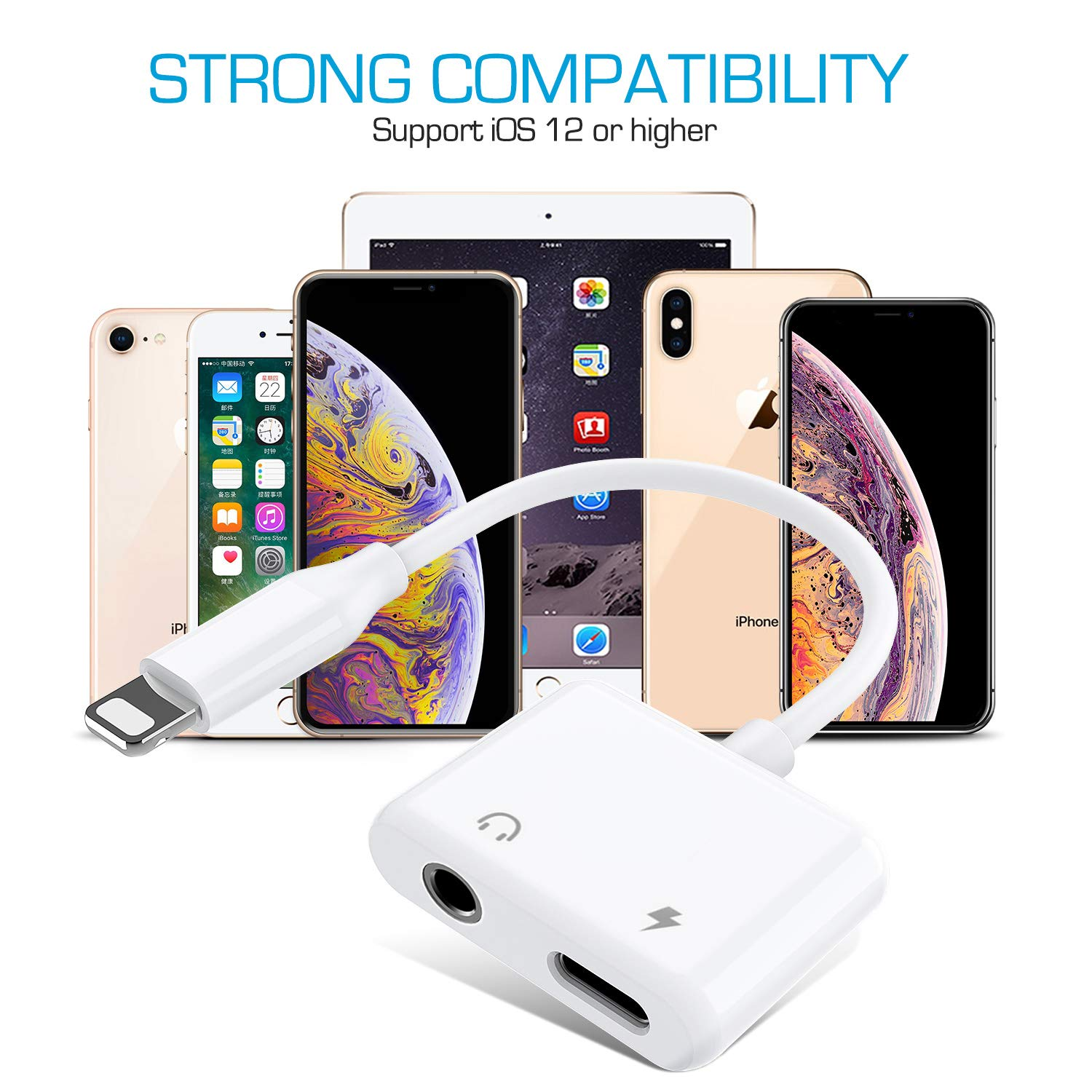 Universal Car Charger Dual Port USB Car Charger Adapter for iPhone X//8//8 plus//7//7 Plus//6s//6s Plus//6//6 Plus Samsung Note 8//S8//S8 Plus//S7 and Other USB Device
