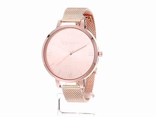 Amazon.com: Steve Madden Womens Quartz Watch with Alloy Strap, Rose Gold, 13.1 (Model: SMW113Q: Watches