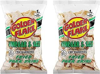 product image for Golden Flake Vinegar & Salt Fried Pork Skins, 3 oz 2 Pack