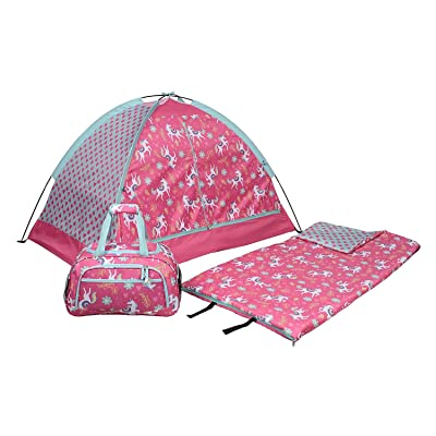 Evaxo Kids' 3-Piece Slumber Set, Unicorn: Sports & Outdoors