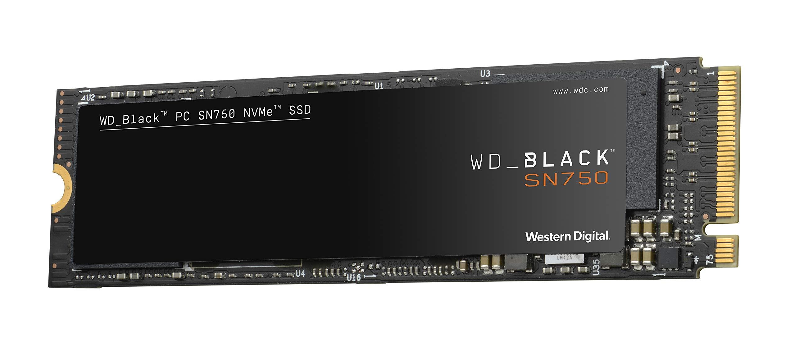 WD BLACK SN750 1TB NVMe Internal Gaming SSD - Gen3 PCIe, M.2 2280, 3D NAND - WDS100T3X0C by Western Digital (Image #3)