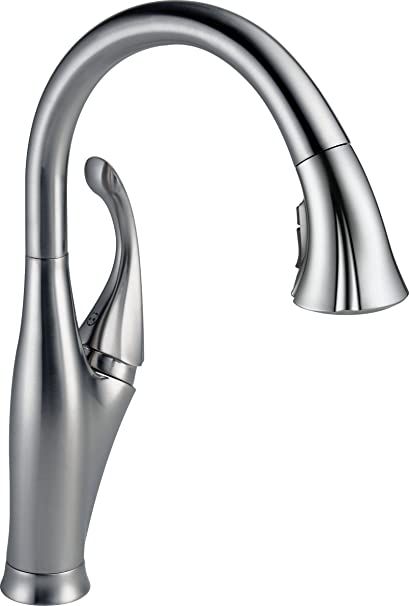 Delta 9192-AR-DST Addison Single-Handle Pull-Down Kitchen Faucet ...