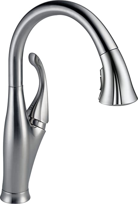 Delta Faucet 9192-AR-DST Addison Single Handle Pull-Down Kitchen