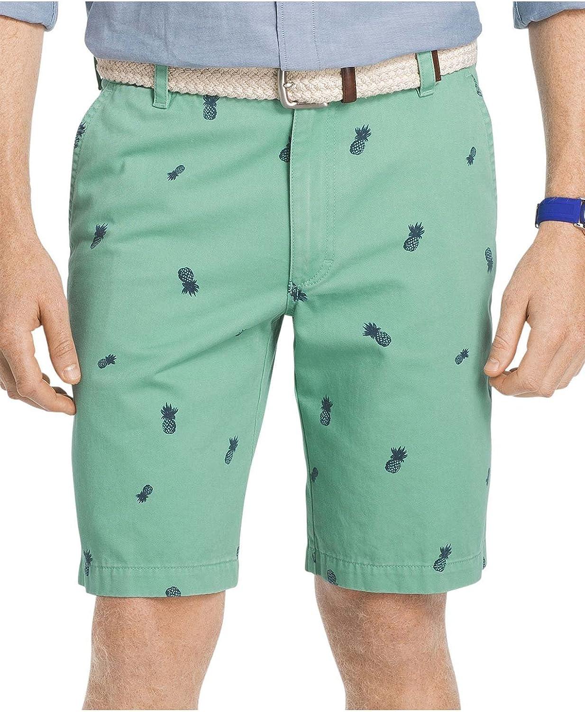IZOD Mens Saltwater Flat Front Shorts