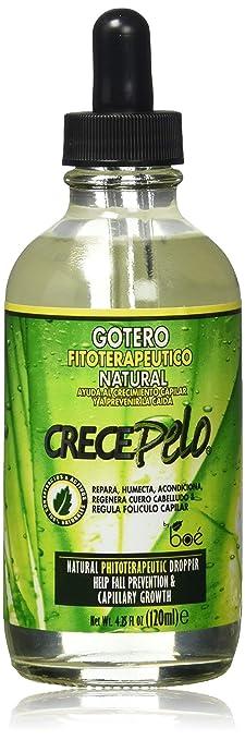 BOE Crece Pelo Gotero Drop Fitoterapeutico Natural W Free Nail File