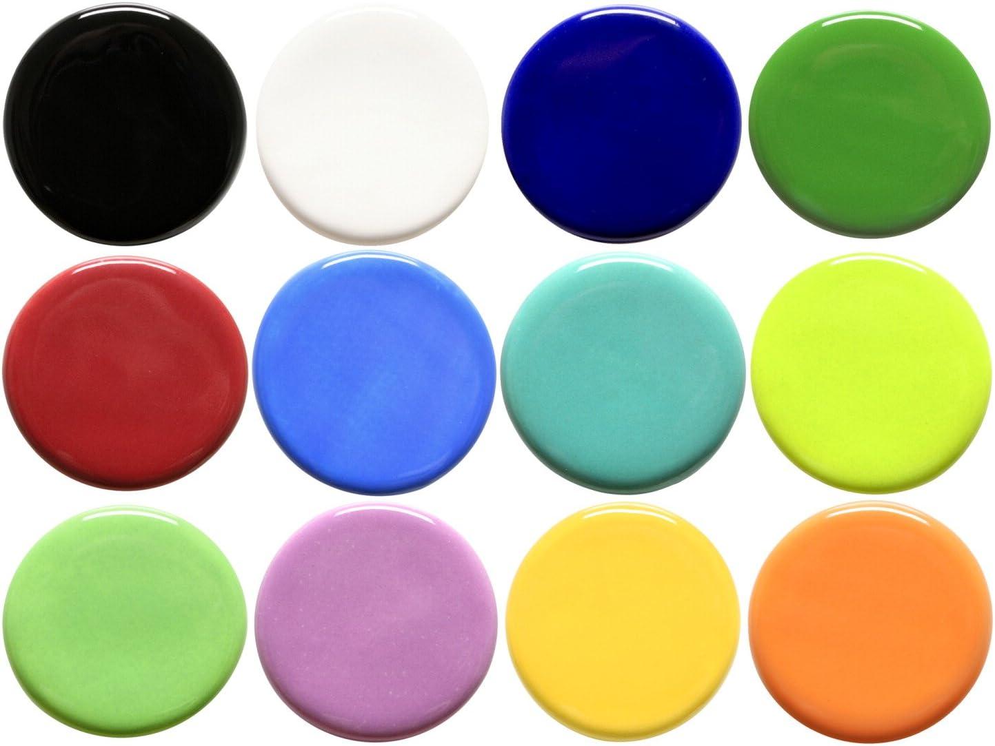 1 Pint Jar AMACO Teachers Palette Light Glaze Quartz TPL-5