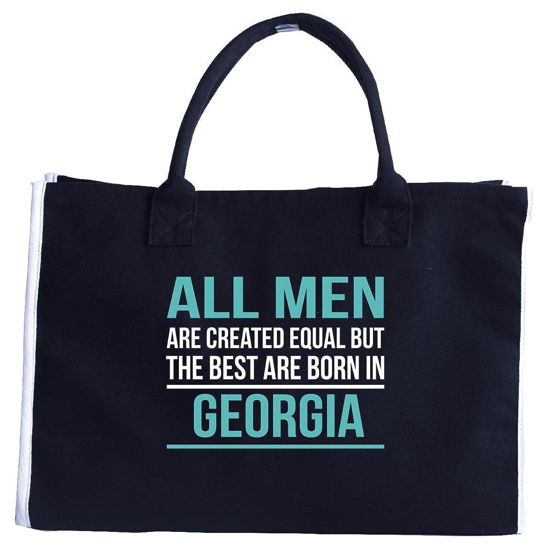 The Best Men Are Born In Georgia - Fashion Customized Tote Bag