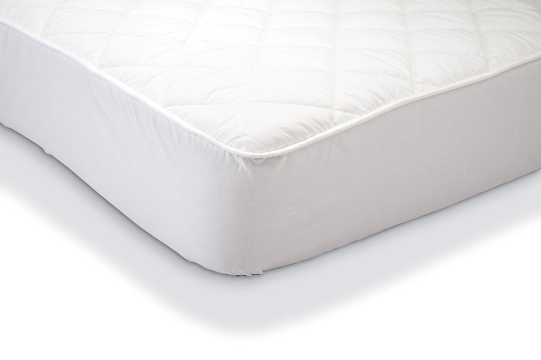 AmazonBasics - Protector de colchón acolchado impermeable 150 x 200 cm: Amazon.es: Hogar