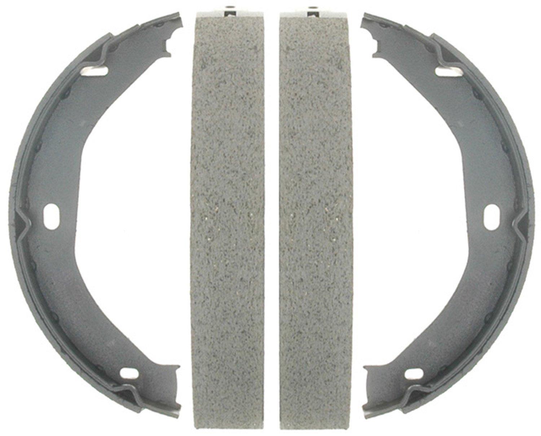 ACDelco 14807B Advantage Bonded Rear Parking Brake Shoe