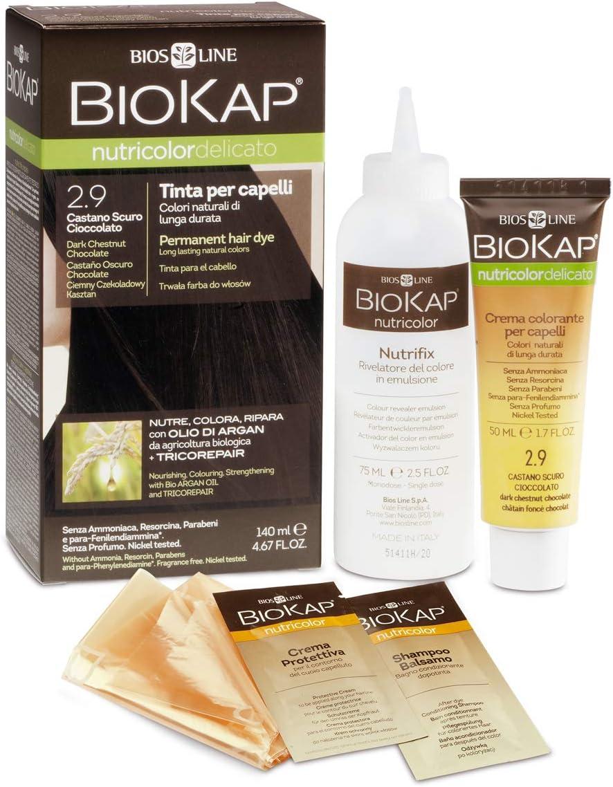 Tinte para cabello Nutricolor Delicato Chtain Miel claro 5.34
