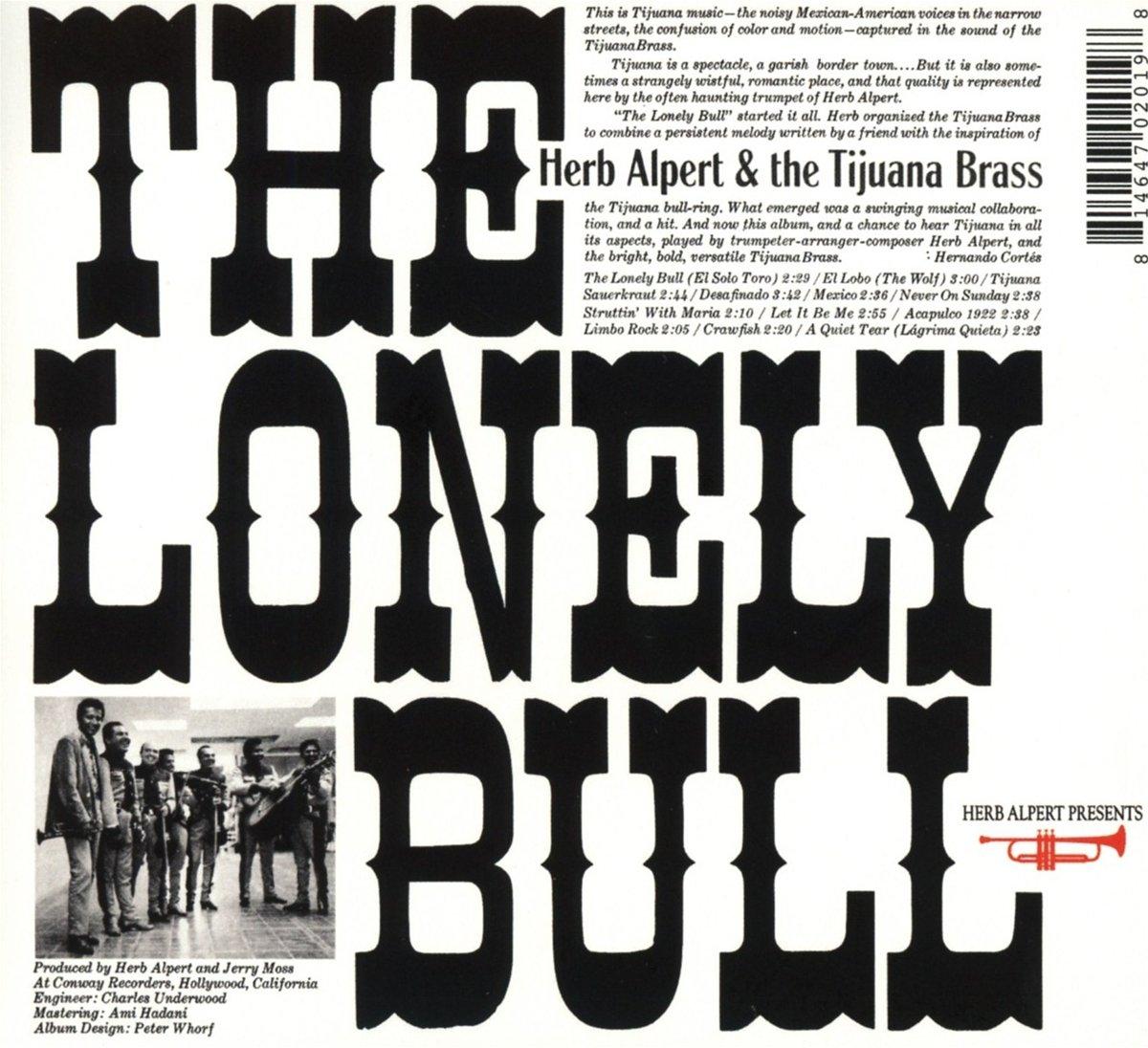 Herb Alpert & The Tijuana Brass - The Lonely Bull - Amazon.com Music