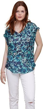 VIOLETA BY MANGO Camisas - para Mujer Verde Verde 44: Amazon ...