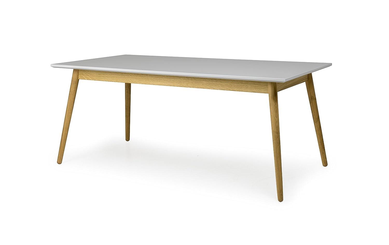 Tenzo 1680 012 Dot Designer Esstisch Holz, Grau/Eiche, 90 X 180 X 75 Cm:  Amazon.de: Küche U0026 Haushalt