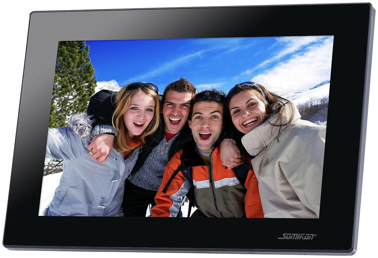 Somikon WiFi Bilderrahmen: Digitaler WLAN Bilderrahmen: Amazon.de ...