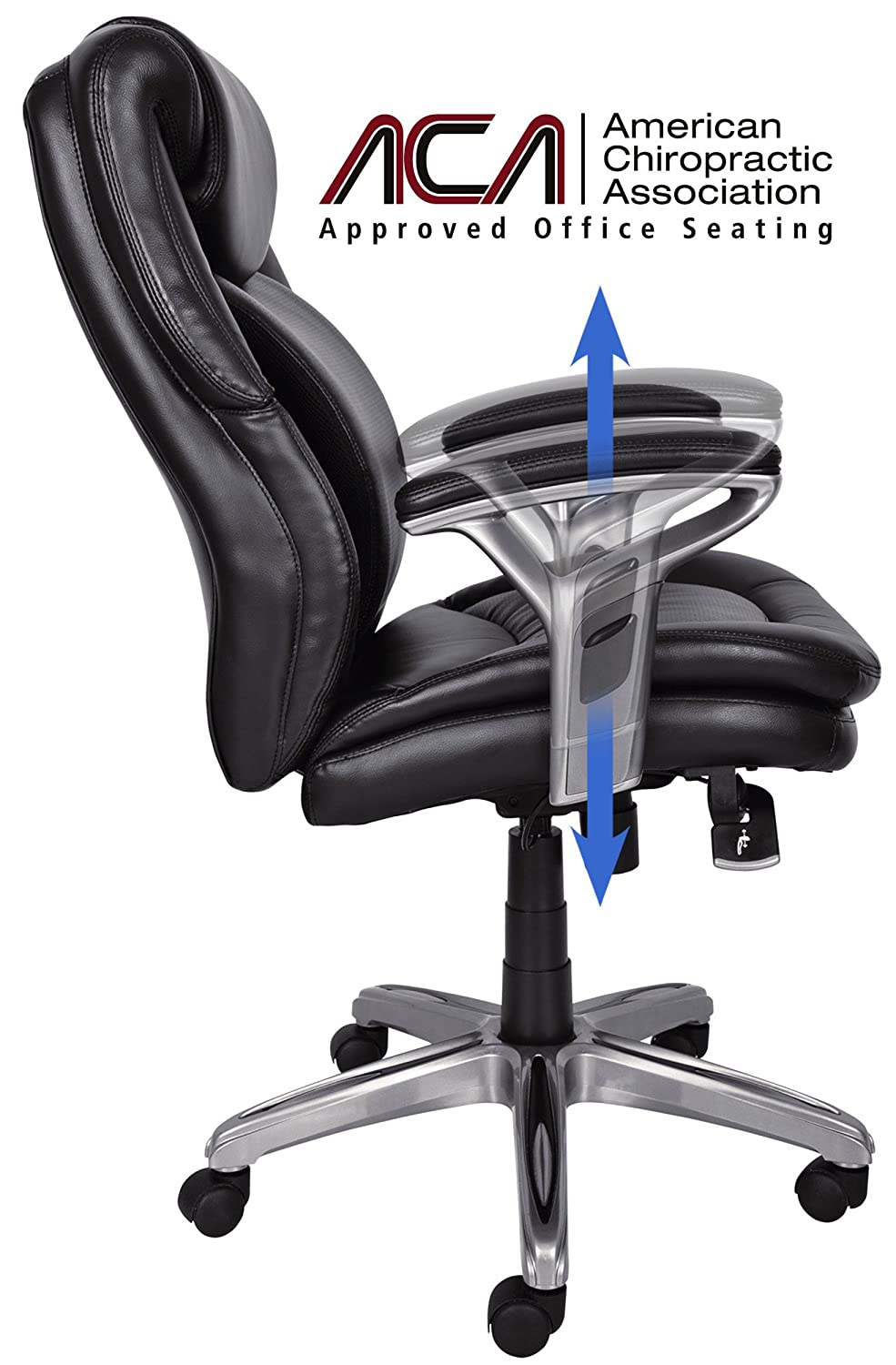 charcoal office amp chairs inspirational executive big microfiber tall home elegant chair of serta