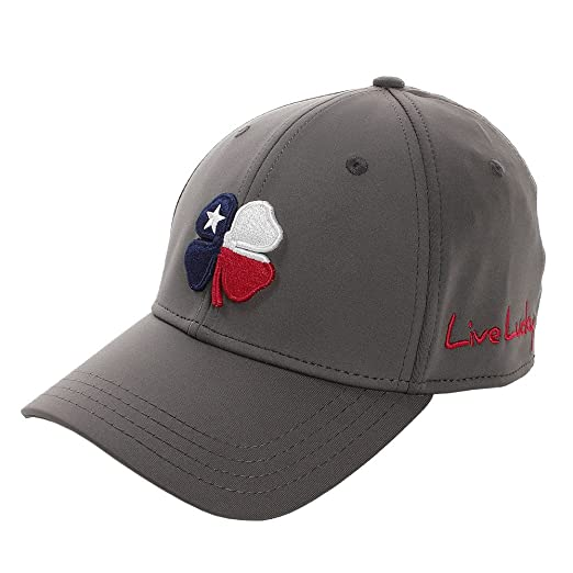 2a8e246edc1 Black Clover Texas Luck  2 Fitted Hat (Small Medium) at Amazon Men s ...