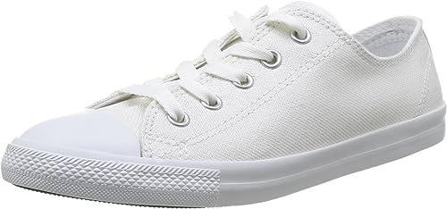 CONVERSE monochrome Low Sneaker Blanc