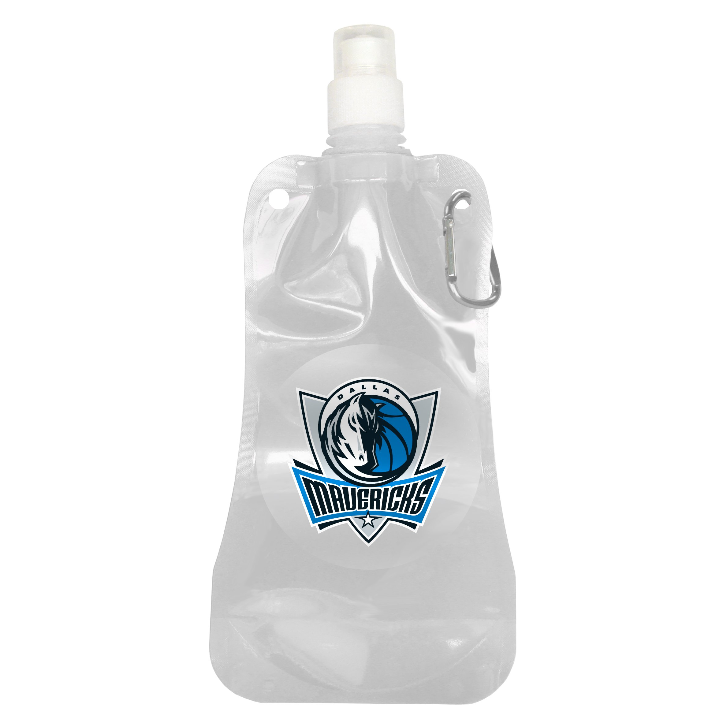 NBA Dallas Mavericks Foldable Water Bottle, 16-ounce, 2-Pack by Boelter Brands