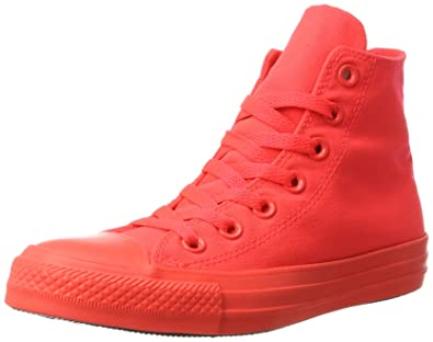 converse shoes high tops red. converse all star hi red mono - 5 uk shoes high tops o