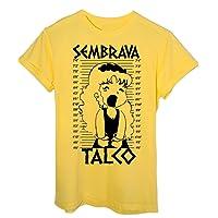 T-Shirt Sembrava Talco Pollon Foto Segnaletica - Anime & Videogames
