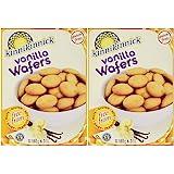 Kinnikinnick Foods Gluten-Free Vanilla Wafers 6.3 Ounce Gluten-Free Cookies - 2 Boxes