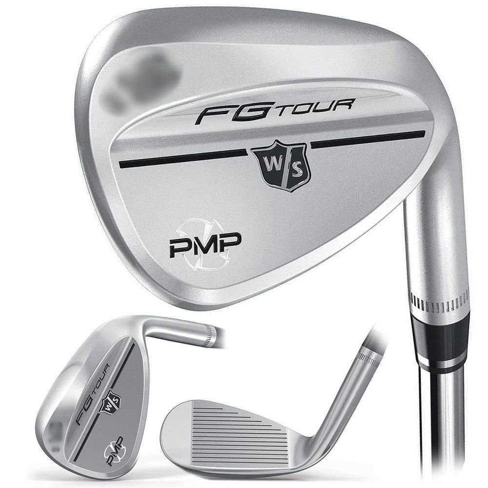 Wilson Staff FG Tour PMP Men's Golf Wedge, Traditional Frosted, 60, Right Hand by Wilson