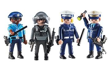 Outletdelocio. Playmobil 6501-2. Patrulla Policia y Cuerpos ...