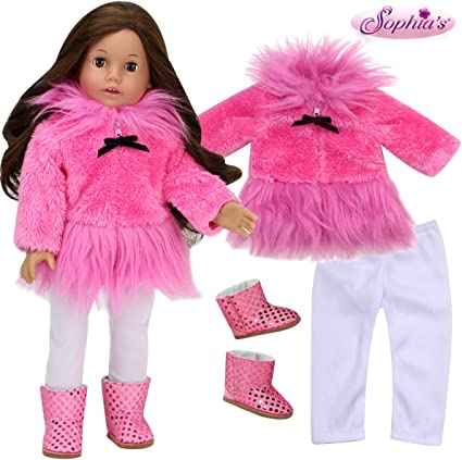 """New Sophia/'s Doll Clothes 5 Pc Riding Outfit Boots Fits American Girl 18/"""" Doll"""