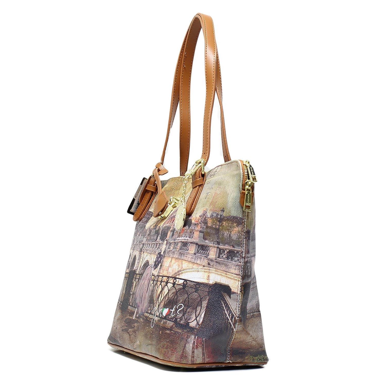 9a610e555a BORSA YNOT SHOPPING BAG MEDIUM I-377 RRT ROMA RETRO': Amazon.it: Scarpe e  borse