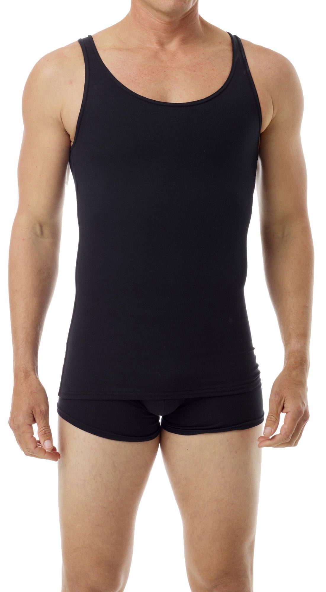 Underworks Cotton Fat and Bulge Concealer Compression Tank Top