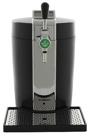 Krups VB5120 dispensador de cerveza - Tirador de cerveza (6.125 kg, 431 x 254 x 433 mm) Negro, Plata: Amazon.es: Hogar