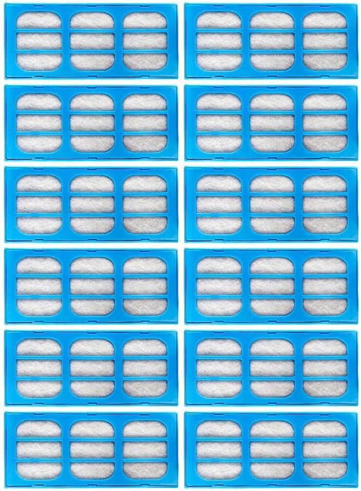 Aceshop Replacement Filter Cartridges,12 Cartuchos de Filtro de purificación de Agua de Repuesto compatibles con Fuentes de Mascotas de Gato/Perro Mate