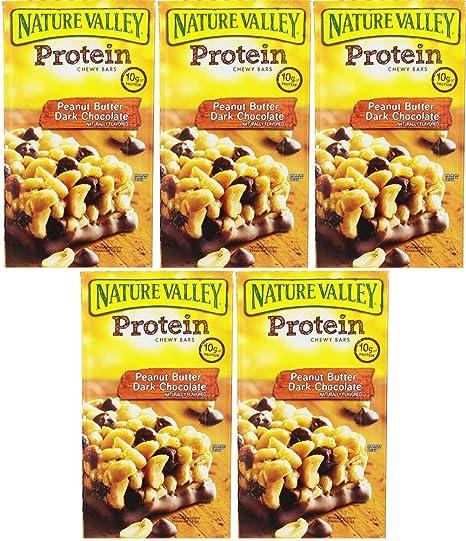 Nature Valley Barras de proteínas, mantequilla de maní ...