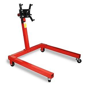 Support Moteur 550 kg rotatif Levage Support à Griffes Pied Support Porte Moteur