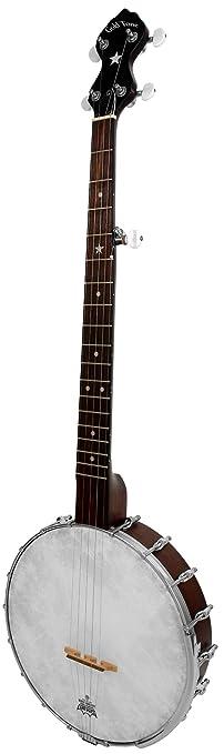 Amazon.com: Gold Tone CC-OT/L Cripple Creek Openback Banjo (Left ...