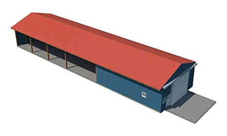 Pole Barn Shed Plans Diy Outdoor Storage Shed Building