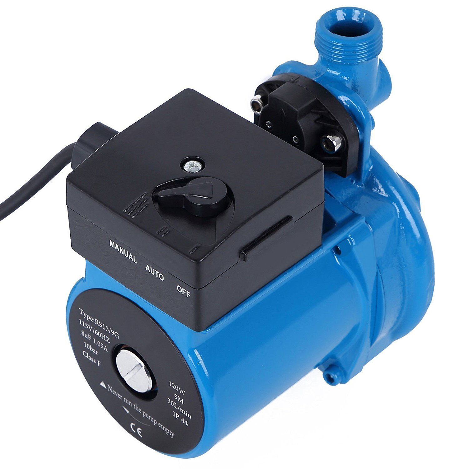 AKENT NPT 3/4'' 110V/115V Hot Water Circulation Pump /Circulator Pump For Solar Heater System With US Plug (Cast iron NPT)