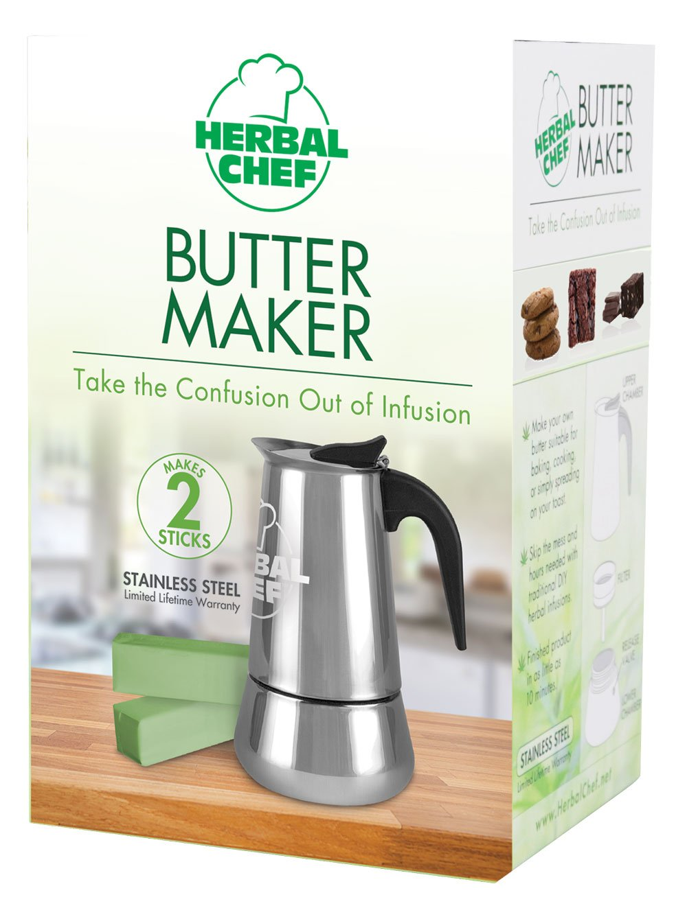 Herbal Chef Butter Maker - (1 Stick)