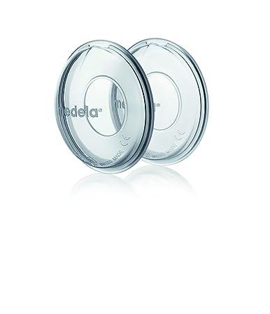 iQ-med Brustschalen Made in Germany 4 St/ück Milchauffangschale und Brustwarzenschutz